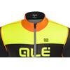 Alé Cycling R-EV1 Rumbles Jacket Men Black-Foul Organge-Fluo Yellow